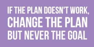 change the plan